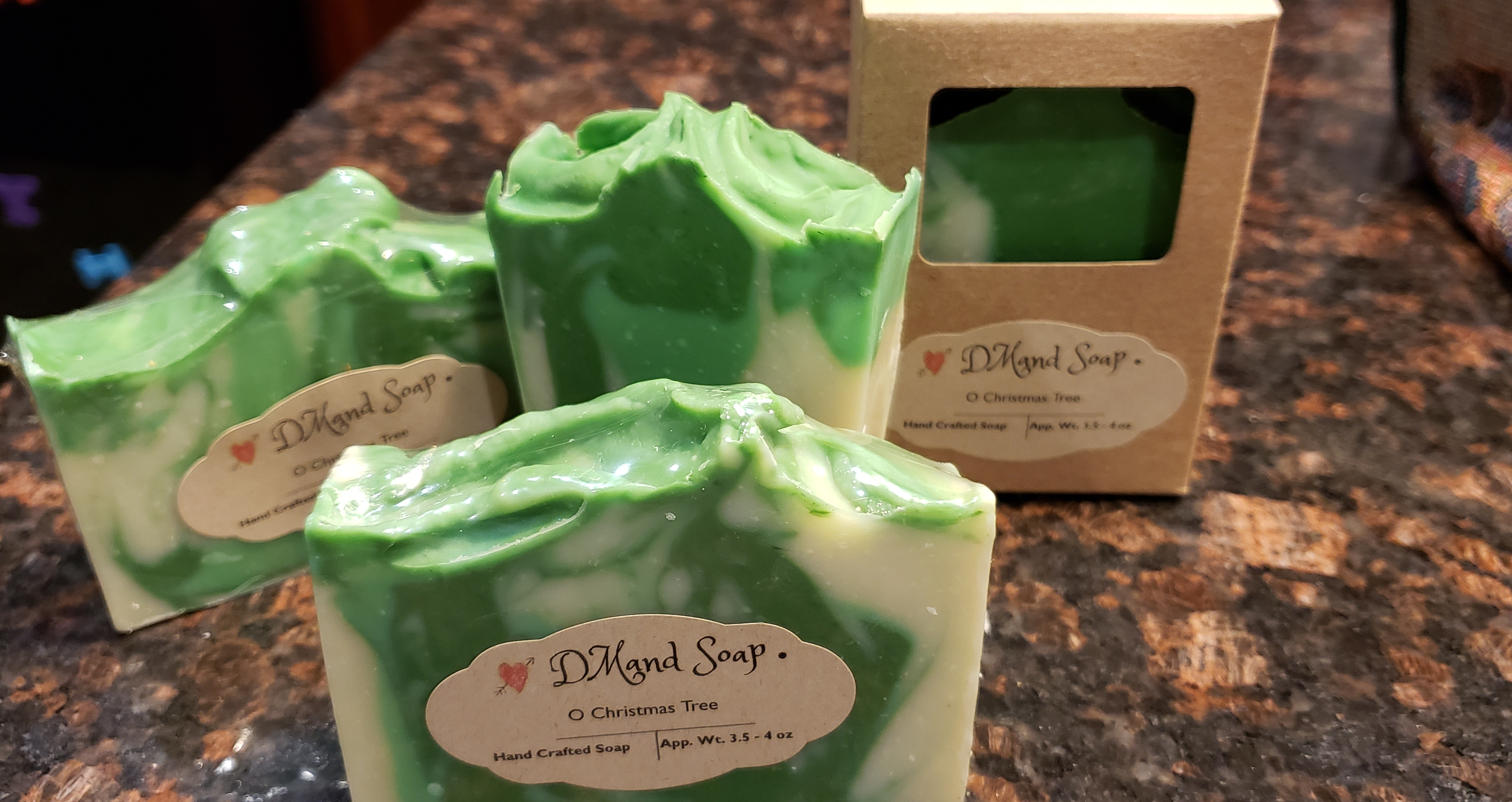 Natural Vegan Soap with Fragrance Oil